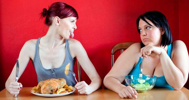 как похудеть без расчета калорий