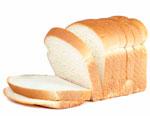 Нарезанный белый хлеб