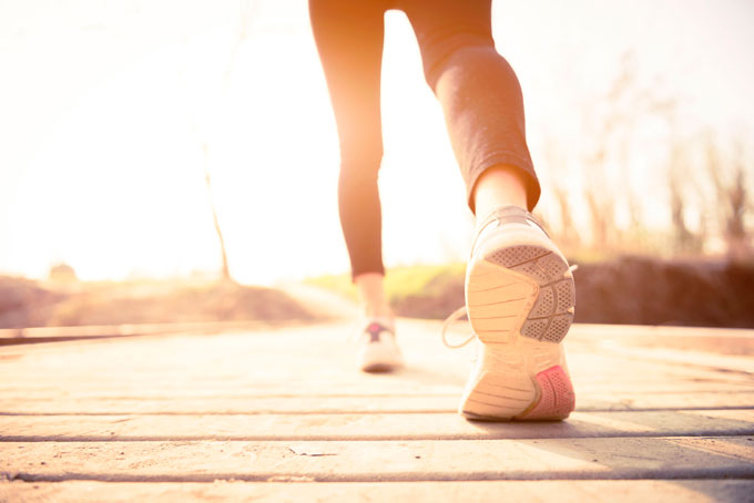 Прогулка для снижения веса