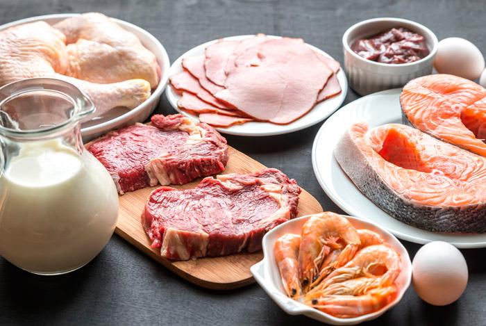 Белковые продукты для диеты Дюкана