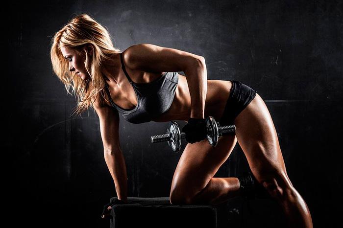 Упражнение для девушки