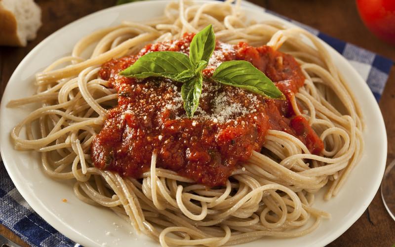 Спагетти для набора мышечной массы