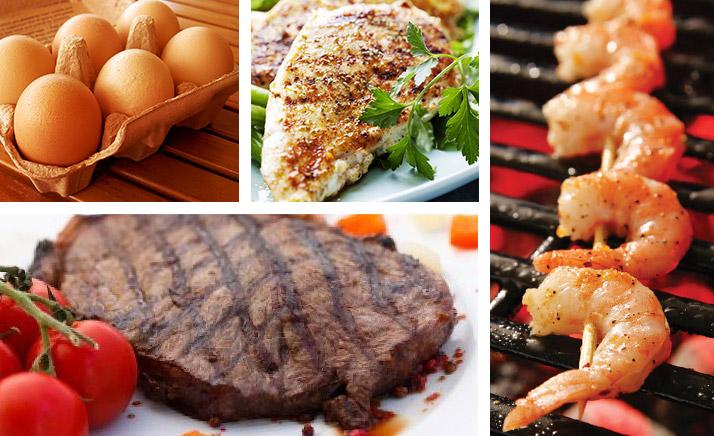Продукты питания для сушки тела