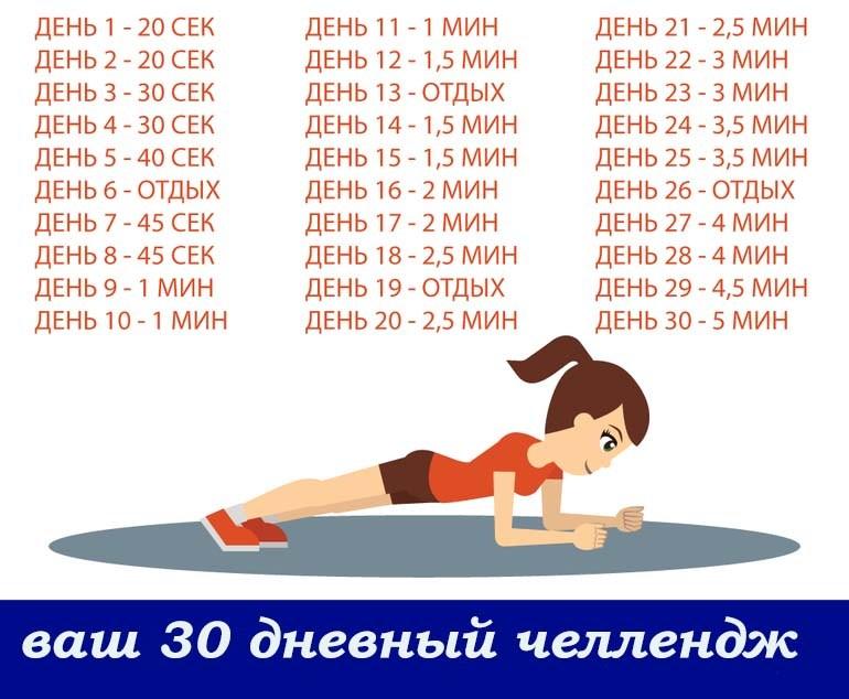 30 дневная программа
